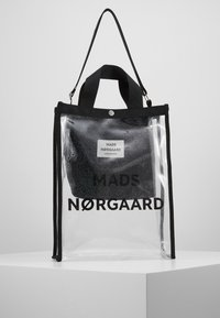 Mads Nørgaard - TÖTE BAG - Bolso shopping - silver - 0