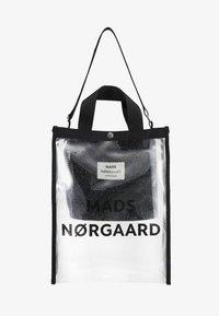 Mads Nørgaard - TÖTE BAG - Velká kabelka - silver - 5