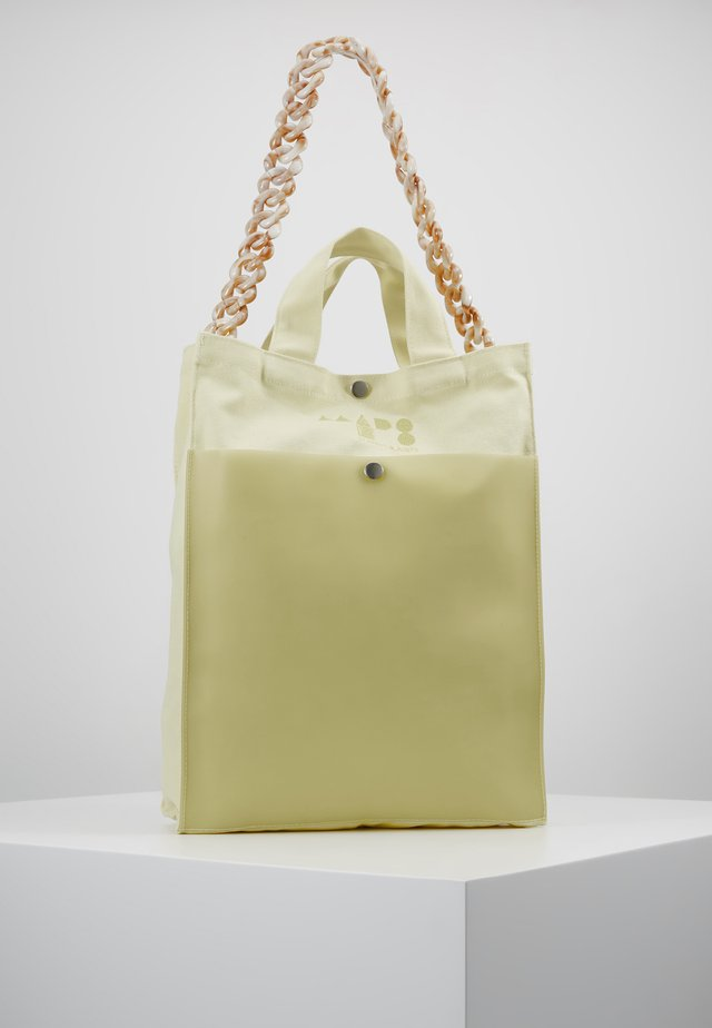 TÖTE BAG - Shopping bags - soft yellow
