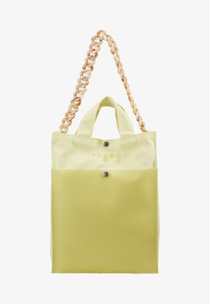 TÖTE BAG - Shopper - soft yellow