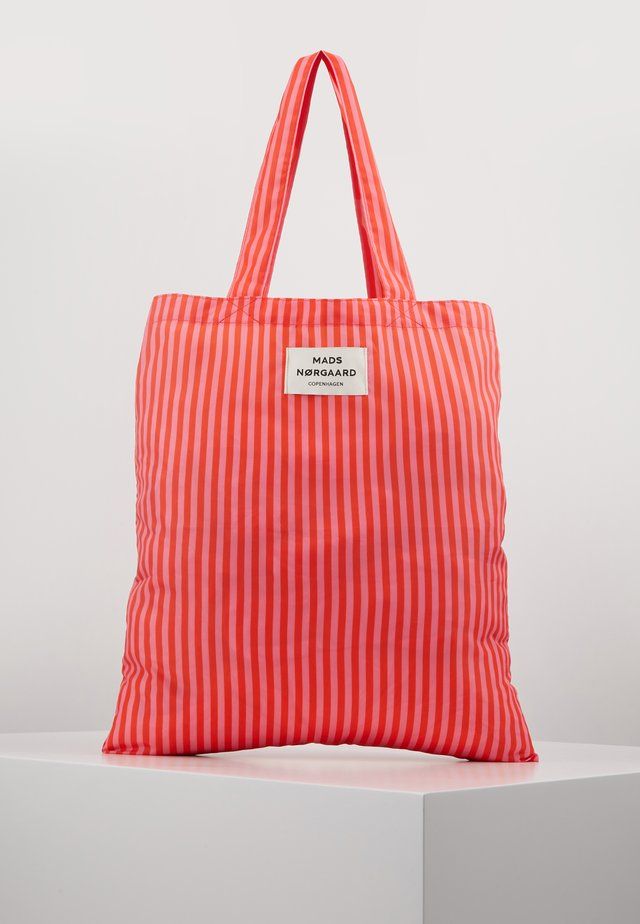 ATOMA - Shopping Bag - red/pink