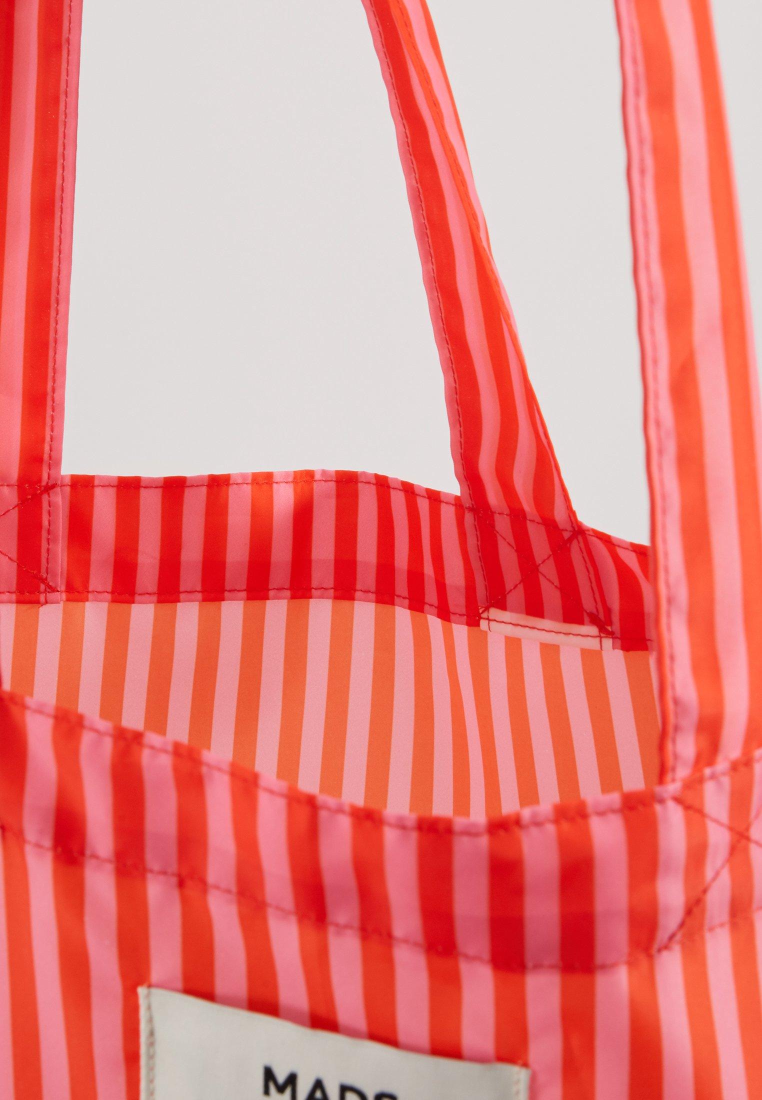 Mads Nørgaard ATOMA - Shoppingveske - red/pink
