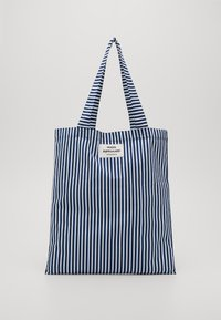 Mads Nørgaard - SOFT ATOMA - Shopping bags - navy/white - 0