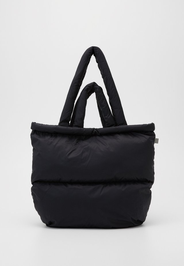 SHINY QUILT PILLOW - Handväska - black