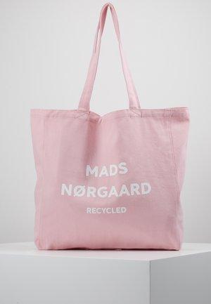 BOUTIQUE ATHENE - Tote bag - pink/white