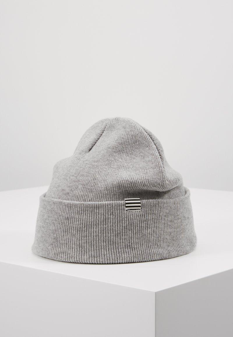Mads Nørgaard - ISAK AMBAS - Czapka - light grey melange
