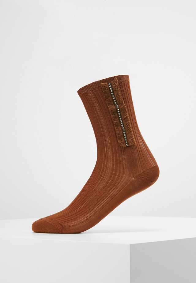 HANGAR - Socks - brown