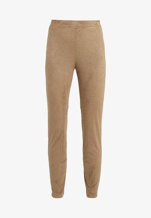 GESTO - Leggings - Trousers - kamel