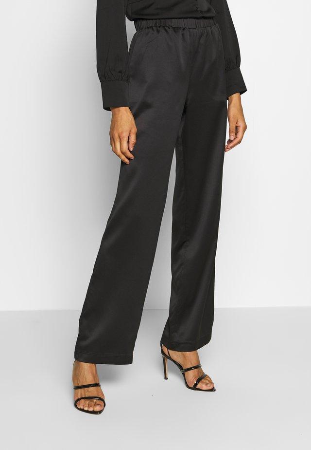 PAVIA - Kalhoty - schwarz