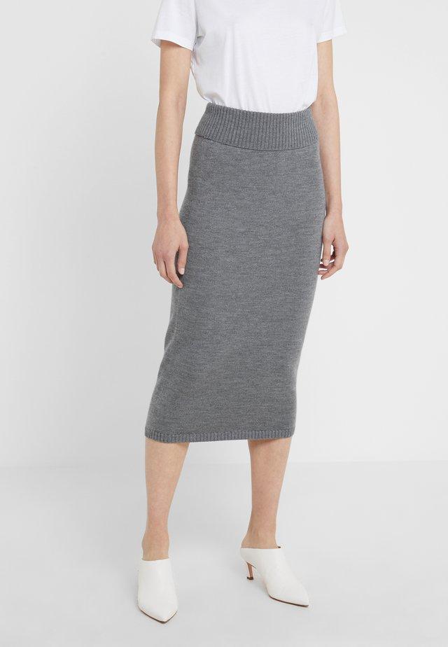 URUGUAY - Blyantnederdel / pencil skirts - mittelgrau