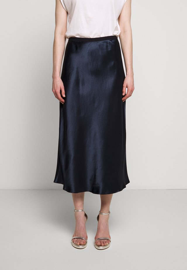 SEGNALE - A-line skirt - navy