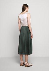 Max Mara Leisure - DRINA - A-line skirt - petrol - 2