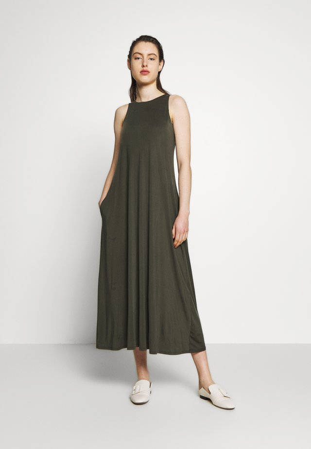 ULULO - Jersey dress - khaki