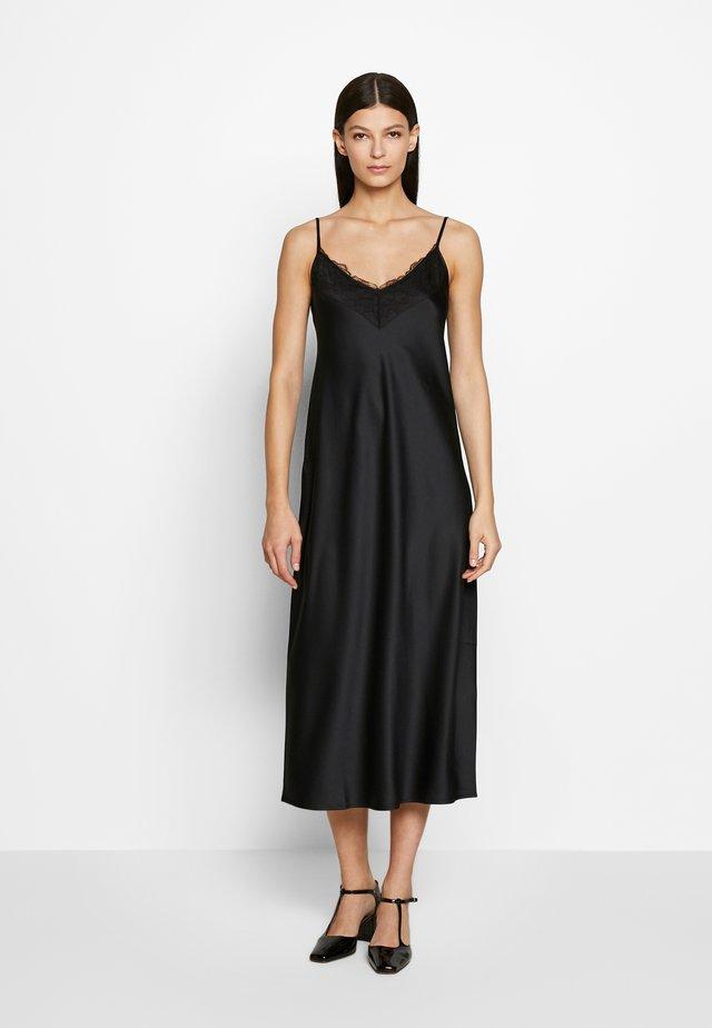 VERA - Maxi šaty - schwarz