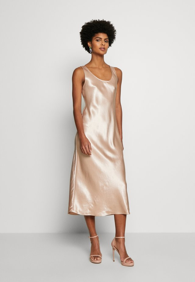 TALETE - Denní šaty - nudo