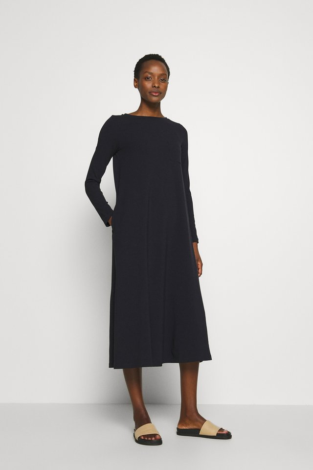 GAVETTA - Jersey dress - black