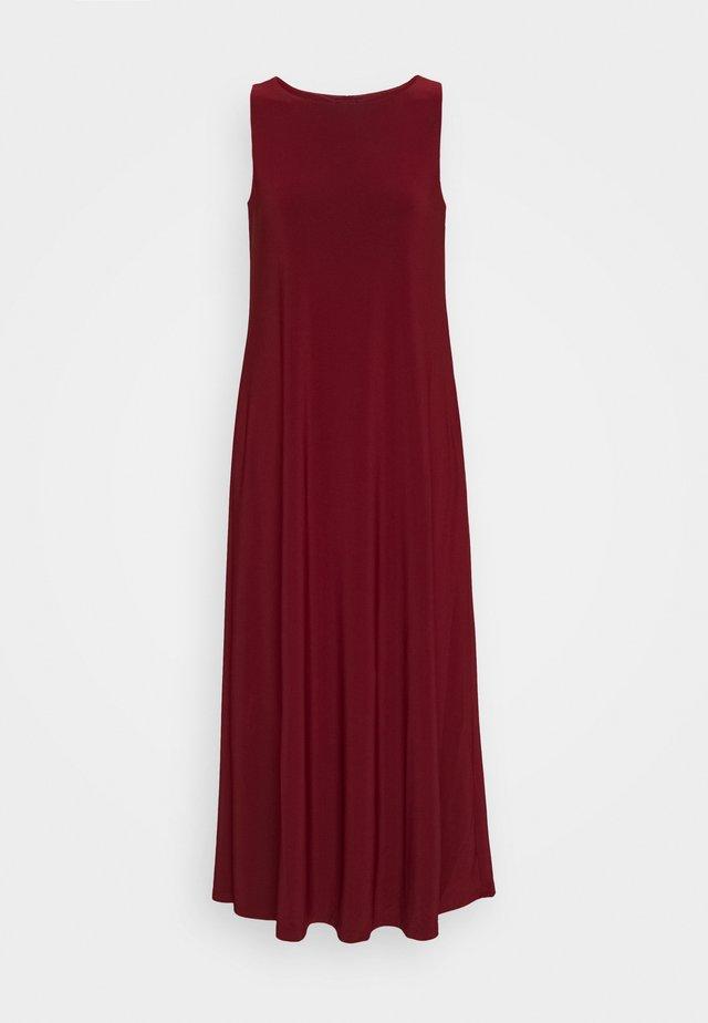 FISCHIO - Jersey dress - ziegelrot rot