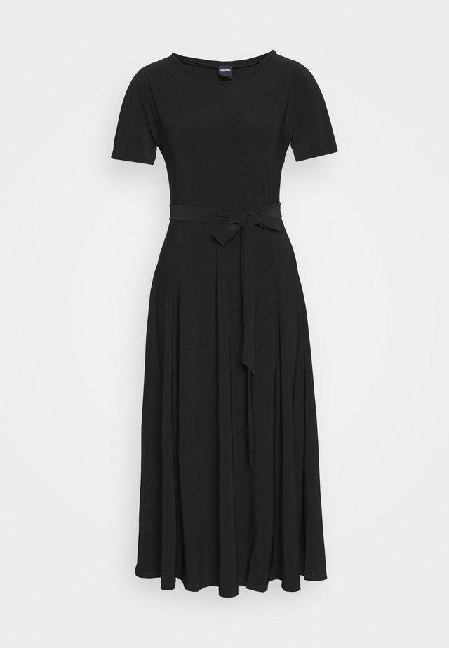 GALENA - Žerzejové šaty - schwarz