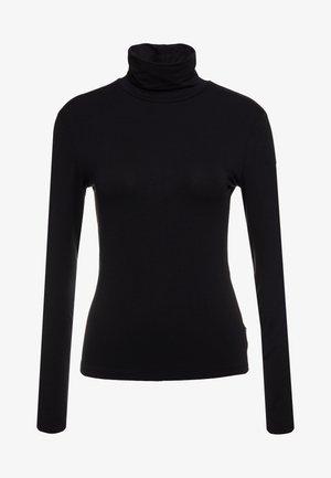 CARRARA - Maglietta a manica lunga - schwarz
