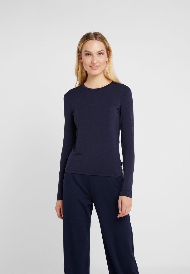 Max Mara Leisure - ALDINA - T-shirt à manches longues - blau