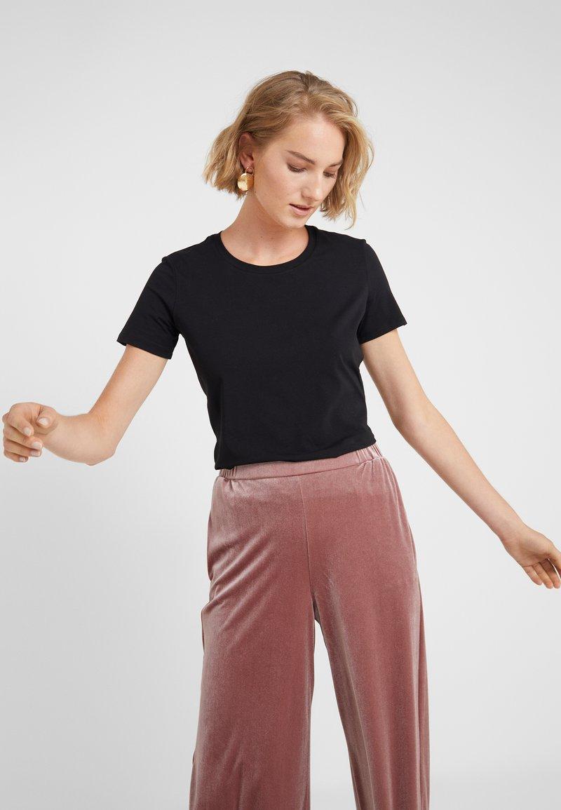 Max Mara Leisure - VAGARE - T-Shirt basic - black