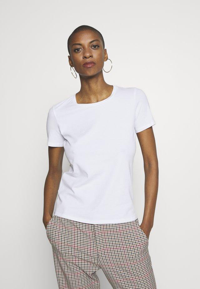 VAGARE - Basic T-shirt - weiss