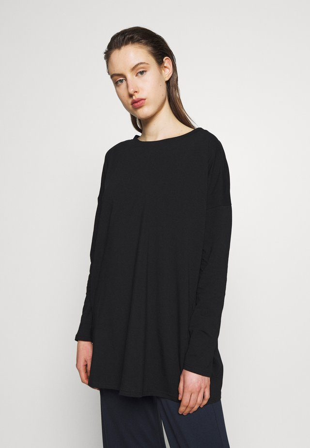 BAUTTA - Long sleeved top - black