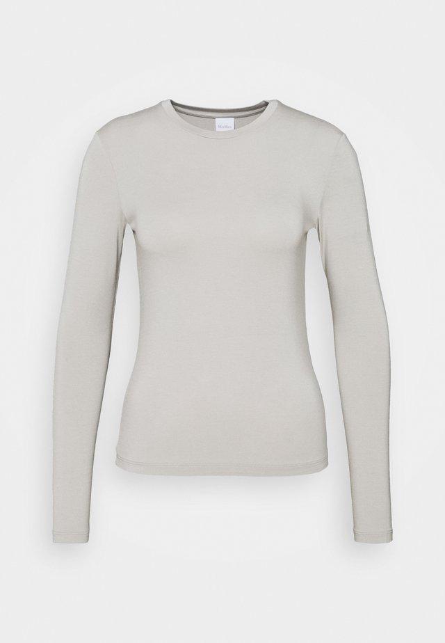 ASIAGO - T-shirt à manches longues - mittelgrau