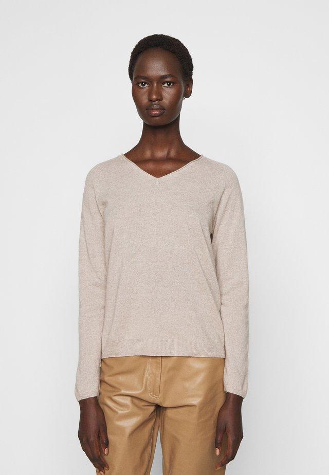 CABLO - Stickad tröja - beige