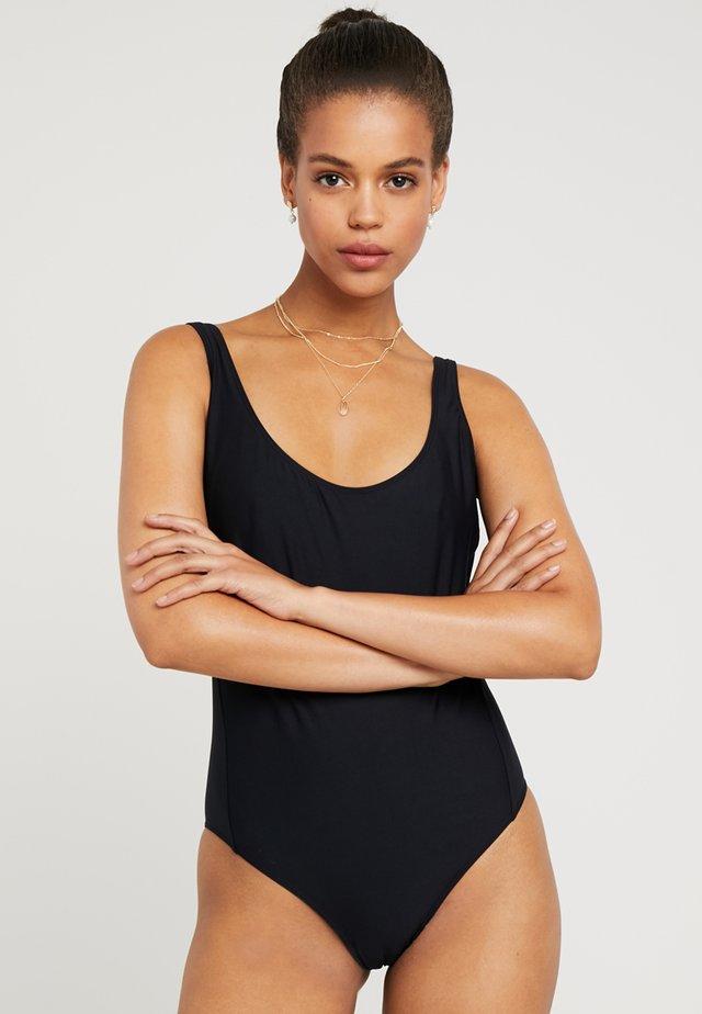CONIO - Badeanzug - schwarz