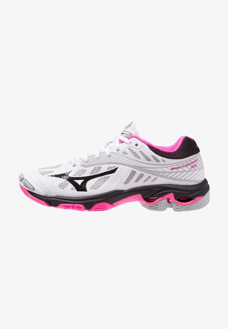 Mizuno - WAVE LIGHTNING Z4 - Volleyballschuh - white/black/pink glo