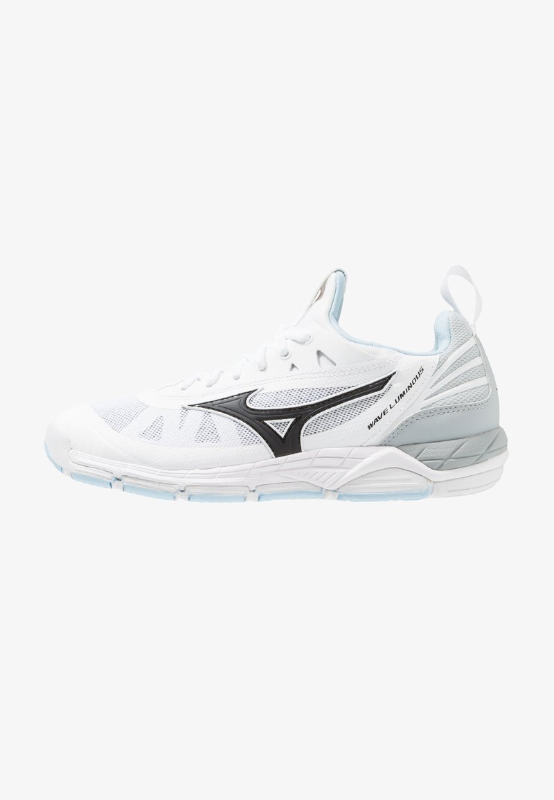 Mizuno - WAVE LUMINOUS - Volleyballschuh - white/black/clearwater