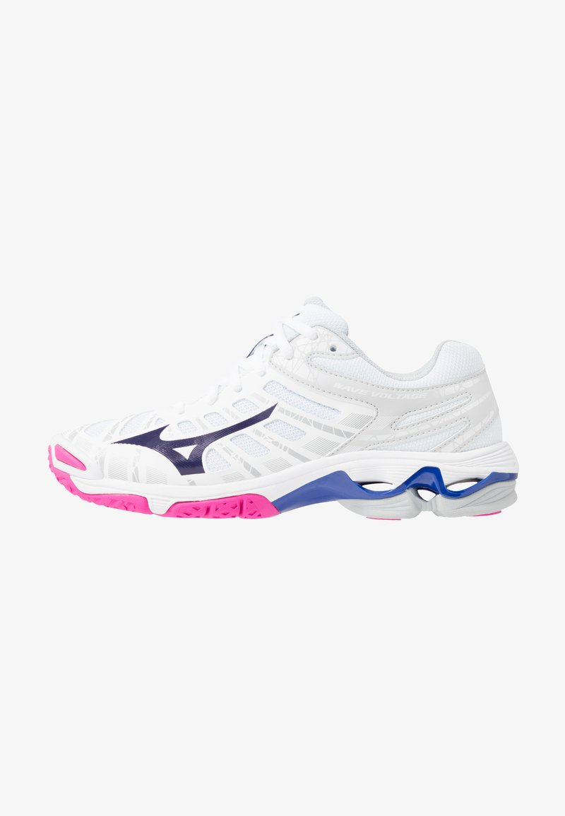 Mizuno - WAVE VOLTAGE - Chaussures de volley - white/astral aura/glacier gray