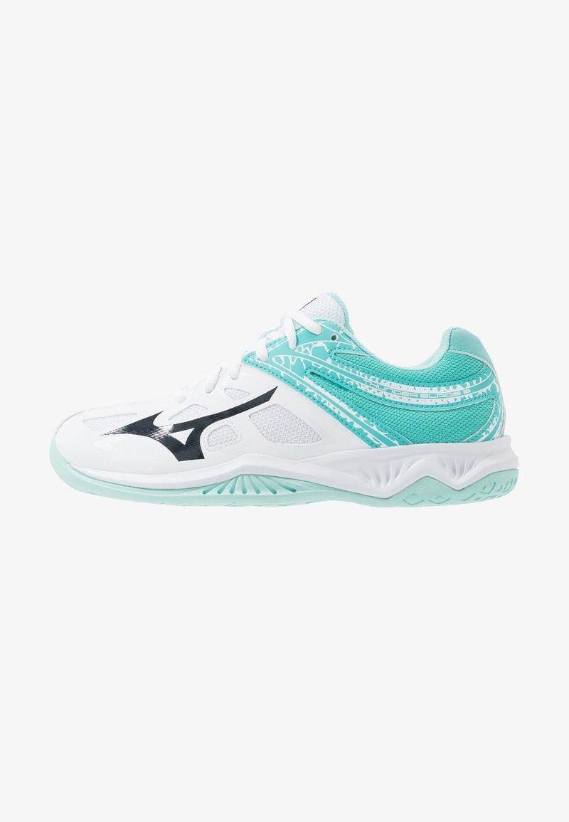Mizuno - THUNDER BLADE 2 - Volleyballsko - white/blueberry/blue turquoise