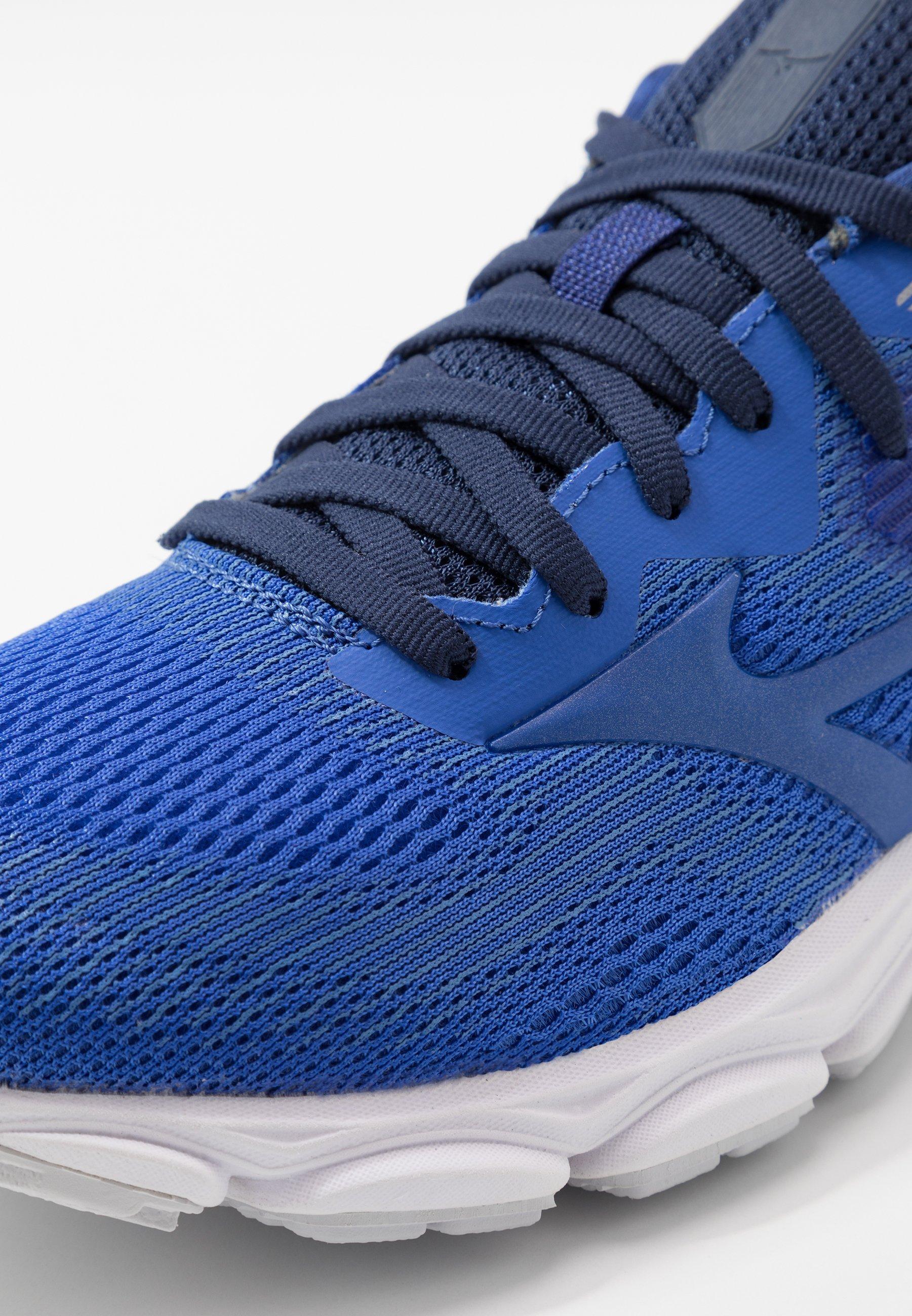 Mizuno WAVE INSPIRE 16 - Nøytrale løpesko - dazzling blue/medieval blue