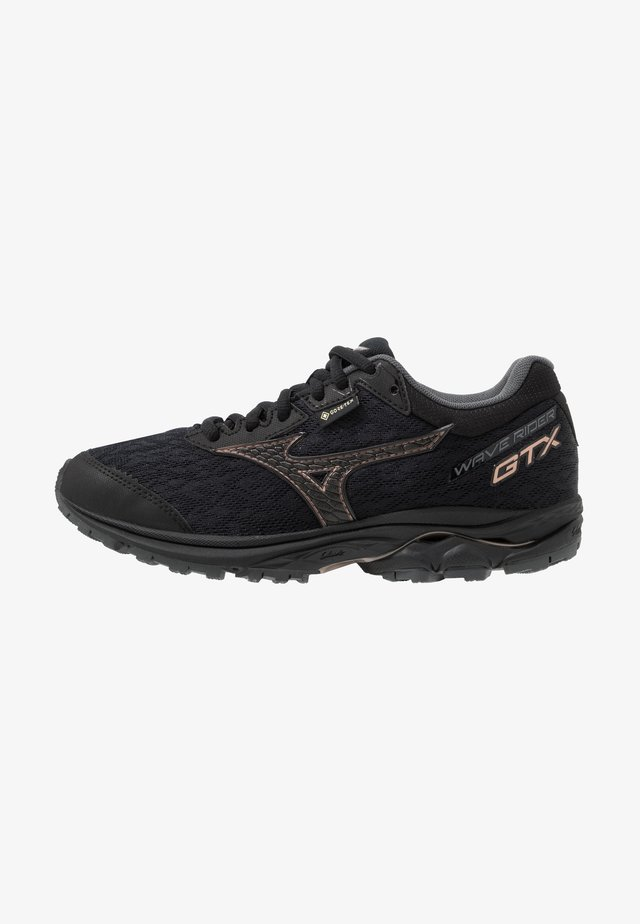 WAVE RIDER GTX - Neutral running shoes - black/champagne