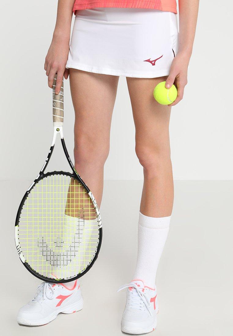 Mizuno - FLEX SKORT - Sports skirt - white