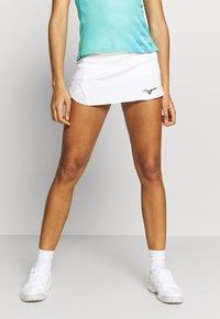 Mizuno - FLEX SKORT - Sports skirt - white - 0