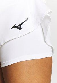 Mizuno - FLEX SKORT - Sports skirt - white - 4