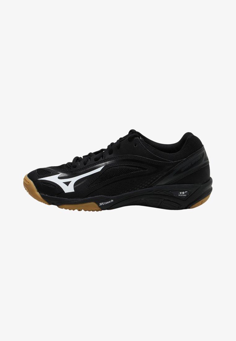 Mizuno - WAVE GHOST - Handball shoes - black/white