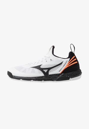 WAVE LUMINOUS - Volleyballsko - white/black/orange clown fish