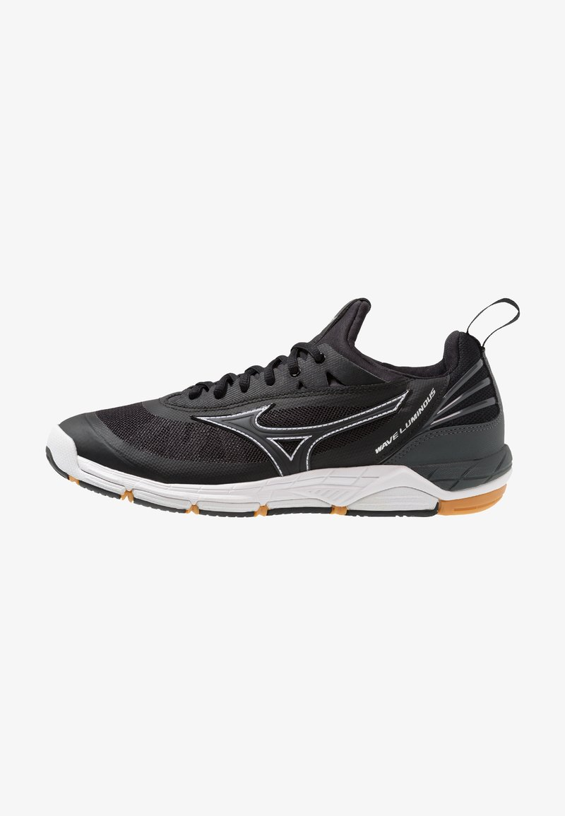 Mizuno - WAVE LUMINOUS - Volleyball shoes - black/steel gray