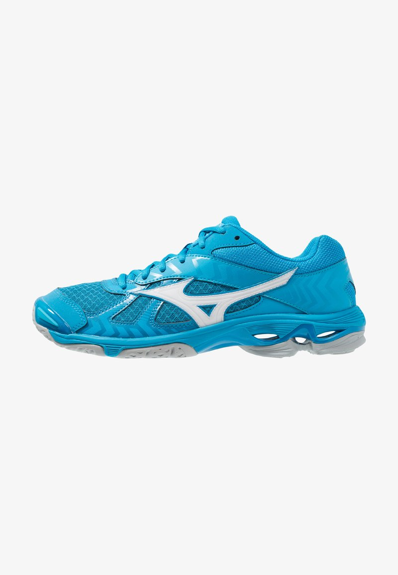Mizuno - WAVE BOLT 7 - Volleybalschoenen - blue jewel/white/hawaiian ocean