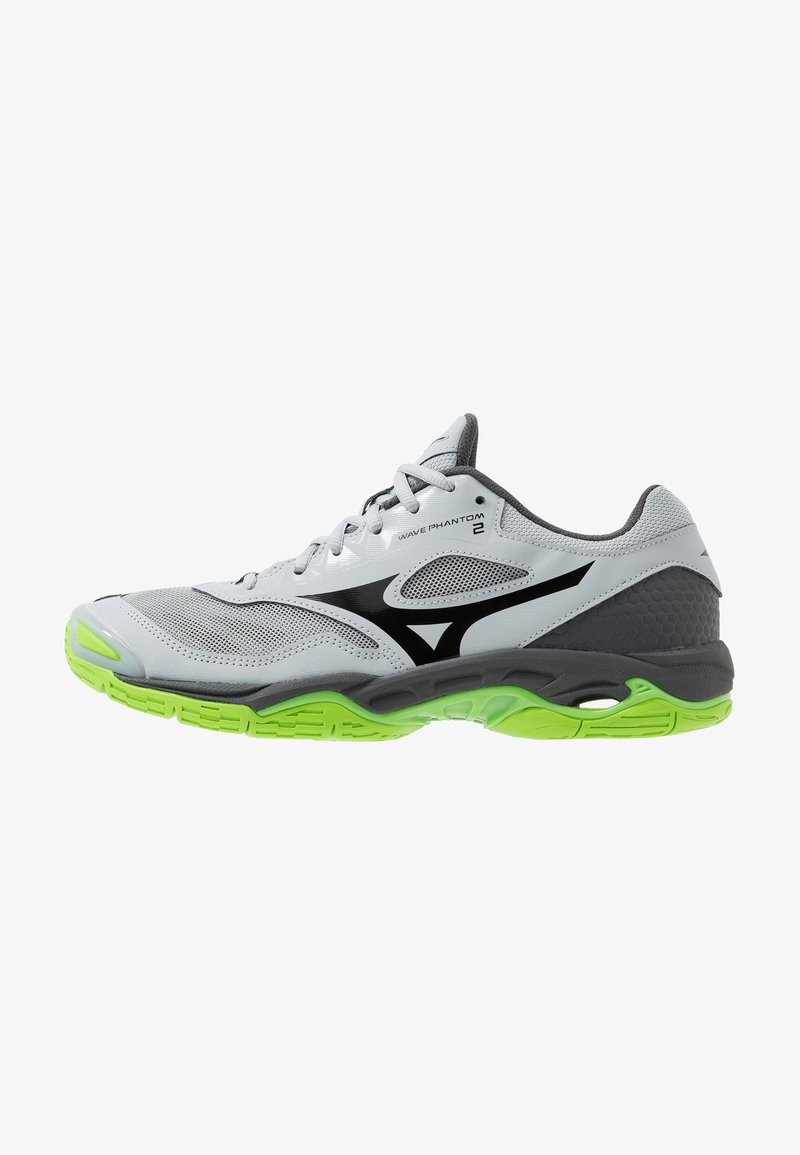 Mizuno - WAVE PHANTOM 2 - Handballschuh - high rise/black/green gecko