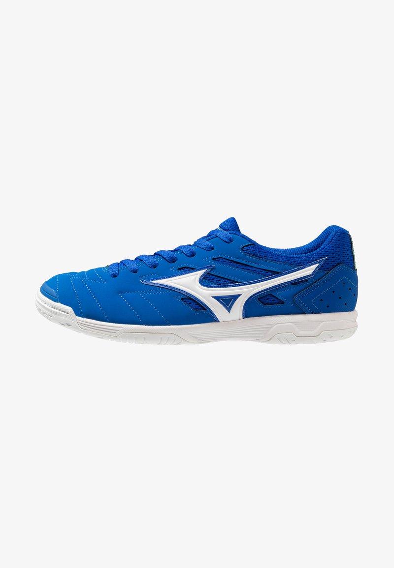 Mizuno - SALA CLASSIC IN - Indoor football boots - blue/white