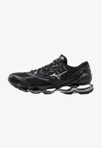 Mizuno - WAVE PROPHECY 8 - Chaussures de running neutres - black/silver/stormy weather - 0