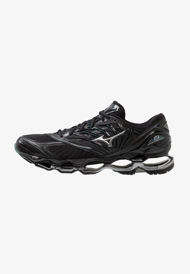 Mizuno - WAVE PROPHECY 8 - Chaussures de running neutres - black/silver/stormy weather