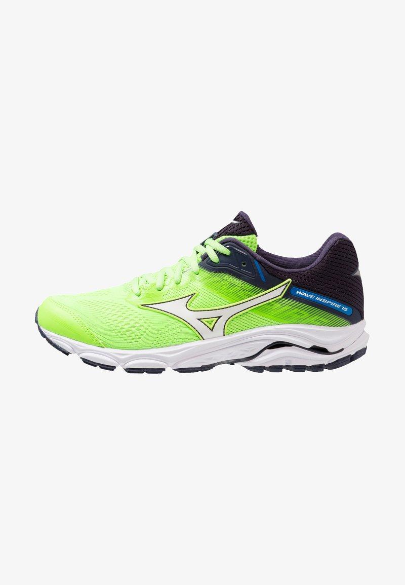 Mizuno - WAVE INSPIRE 15 - Laufschuh Stabilität - green gecko/white/graphite