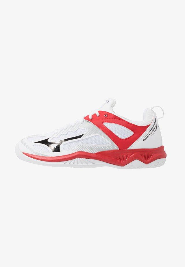 GHOST SHADOW - Handballschuh - white/black/red