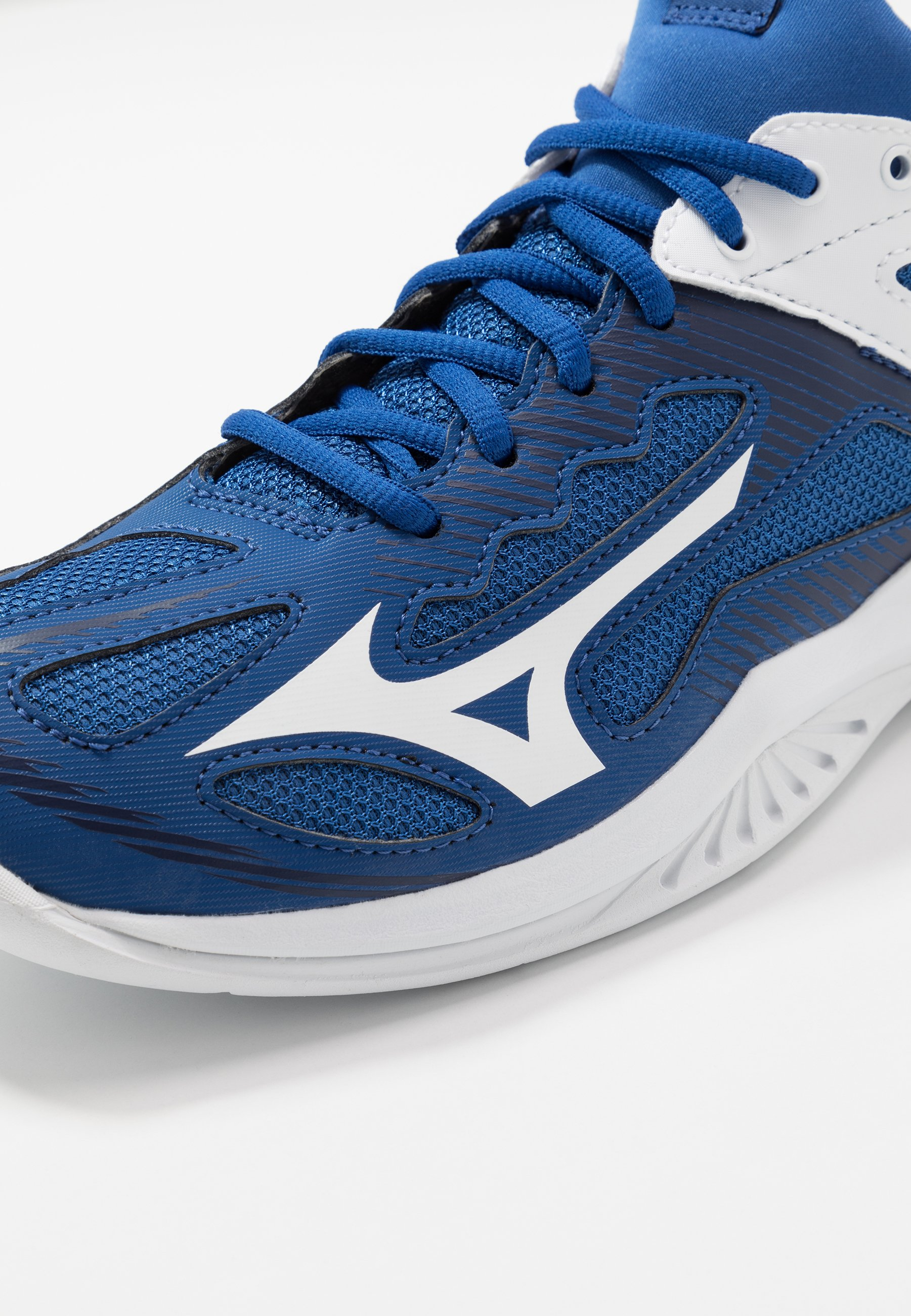 Mizuno Ghost Shadow - Chaussures De Handball True Blue/white/medieval Blue